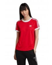 KOszulka Damska Adidas Originals 3 STR TEE SCARLET