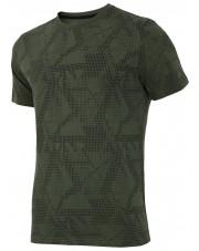 t-shirt 4f ciemna zieleń