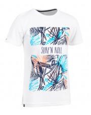 t-shirt junior BIAŁY