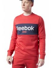 Bluza Reebok  TE Big Logo Crew REBRED