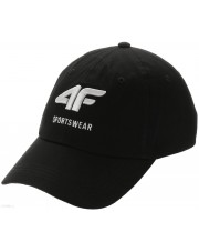 czapka 4F GŁĘBOKA CZERŃ