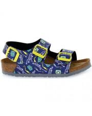 Sandałki Birkenstock Milanorobots blue