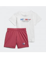 DRES DZIĘCIĘCY ADICOLOR SHORTS AND TEE SET