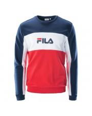 BLUZA FILA MEN colour-block sweatshirt