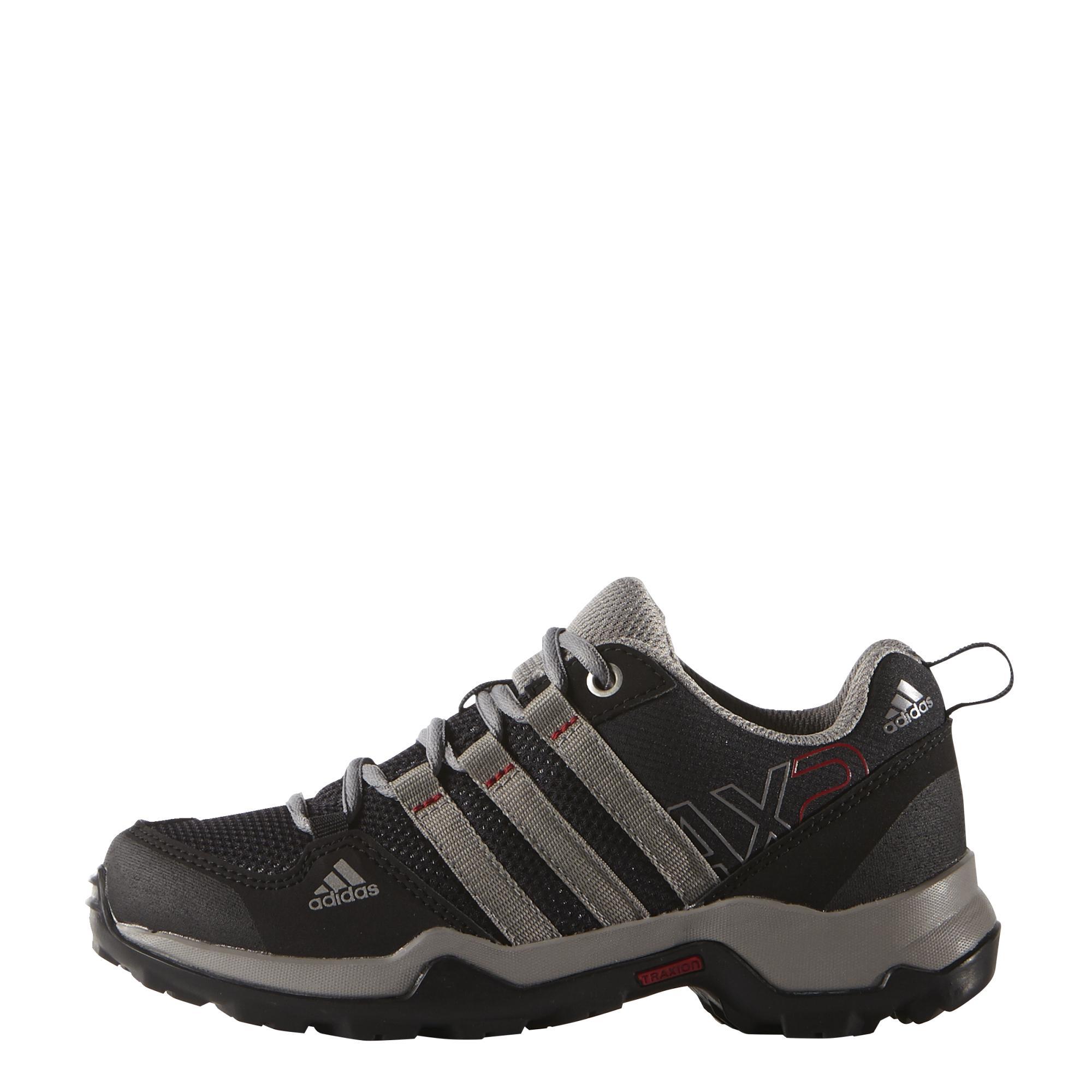 Buty Sportowe Adidas AX2 K (D67136) Czarne, Szare, Srebrne