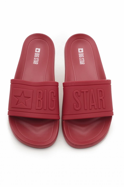 big star klapki czerwone